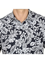Load image into Gallery viewer, Tusok-black-magicVacation-Printed Shirtimage-Black Roop Floral (3)