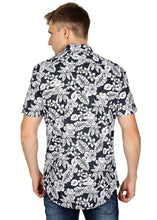 Load image into Gallery viewer, Tusok-black-magicVacation-Printed Shirtimage-Black Roop Floral (4)