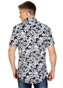 Tusok-black-magicVacation-Printed Shirtimage-Black Roop Floral (4)