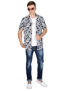 Tusok-black-magicVacation-Printed Shirtimage-Black Roop Floral (6)