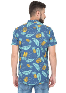 Tusok-blue-pineappleFeatured Shirt, Vacation-Printed Shirtimage-Blue Pineapple (4)