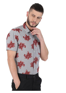 Tusok-brown-bloomFeatured Shirt, Vacation-Printed Shirtimage-Brown Bloom (2)
