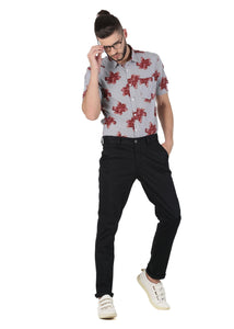 Tusok-brown-bloomFeatured Shirt, Vacation-Printed Shirtimage-Brown Bloom (4)