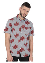 Load image into Gallery viewer, Tusok-brown-bloomFeatured Shirt, Vacation-Printed Shirtimage-Brown Bloom (6)