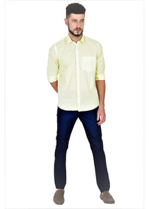 Tusok-cornVacation-Printed Shirtimage-Yellow Polka (2)