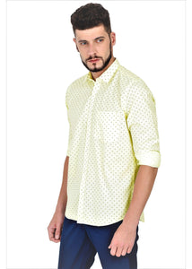 Tusok-cornVacation-Printed Shirtimage-Yellow Polka (3)