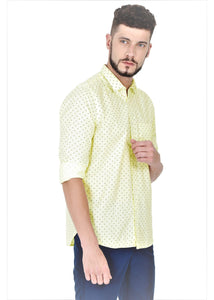 Tusok-cornVacation-Printed Shirtimage-Yellow Polka (4)