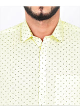 Load image into Gallery viewer, Tusok-cornVacation-Printed Shirtimage-Yellow Polka (6)