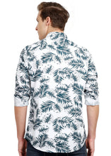 Load image into Gallery viewer, Tusok-dukeVacation-Printed Shirtimage-Whie Black Palm Full (3)