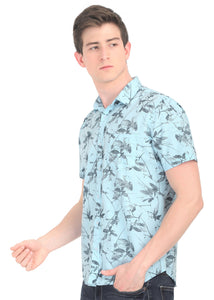 Tusok-fern-blueVacation-Printed Shirtimage-Prakash Blue (6)