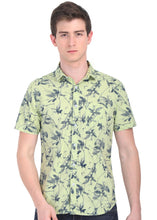 Load image into Gallery viewer, Tusok-fern-greenVacation-Printed Shirtimage-PrakashGreen (1)