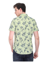 Load image into Gallery viewer, Tusok-fern-greenVacation-Printed Shirtimage-PrakashGreen (3)