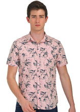 Load image into Gallery viewer, Tusok-fern-pinkVacation-Printed Shirtimage-Prakash Pink (1)