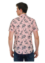 Load image into Gallery viewer, Tusok-fern-pinkVacation-Printed Shirtimage-Prakash Pink (3)