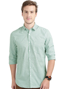 Tusok-green-glenCheckered Shirtimage-Off white Double Green Check (1)