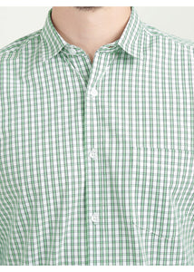 Tusok-green-glenCheckered Shirtimage-Off white Double Green Check (2)