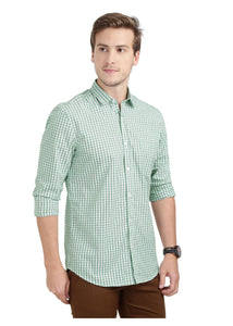 Tusok-green-glenCheckered Shirtimage-Off white Double Green Check (3)