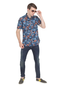 Tusok-grey-tropicalVacation-Printed Shirtimage-Black Grey (3)