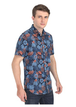 Load image into Gallery viewer, Tusok-grey-tropicalVacation-Printed Shirtimage-Black Grey (6)