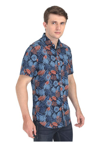 Tusok-grey-tropicalVacation-Printed Shirtimage-Black Grey (6)