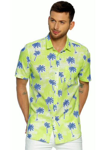 Tusok-kiwiVacation-Printed Shirtimage-Neon Palm (1)