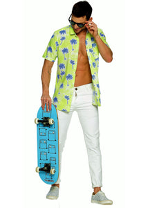 Tusok-kiwiVacation-Printed Shirtimage-Neon Palm (4)