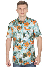 Load image into Gallery viewer, Tusok-maltaVacation-Printed Shirtimage-Teal Orange (1)
