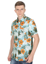 Load image into Gallery viewer, Tusok-maltaVacation-Printed Shirtimage-Teal Orange (2)