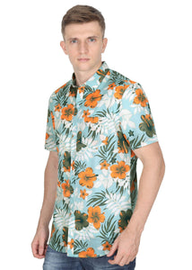 Tusok-maltaVacation-Printed Shirtimage-Teal Orange (2)