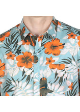 Load image into Gallery viewer, Tusok-maltaVacation-Printed Shirtimage-Teal Orange (3)