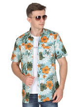 Load image into Gallery viewer, Tusok-maltaVacation-Printed Shirtimage-Teal Orange (4)