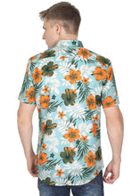 Load image into Gallery viewer, Tusok-maltaVacation-Printed Shirtimage-Teal Orange (5)