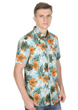 Load image into Gallery viewer, Tusok-maltaVacation-Printed Shirtimage-Teal Orange (6)