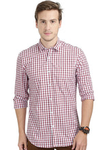 Load image into Gallery viewer, Tusok-manhattanCheckered Shirtimage-Red Black Check (1)