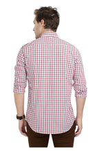 Load image into Gallery viewer, Tusok-manhattanCheckered Shirtimage-Red Black Check (3)
