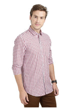 Load image into Gallery viewer, Tusok-manhattanCheckered Shirtimage-Red Black Check (5)