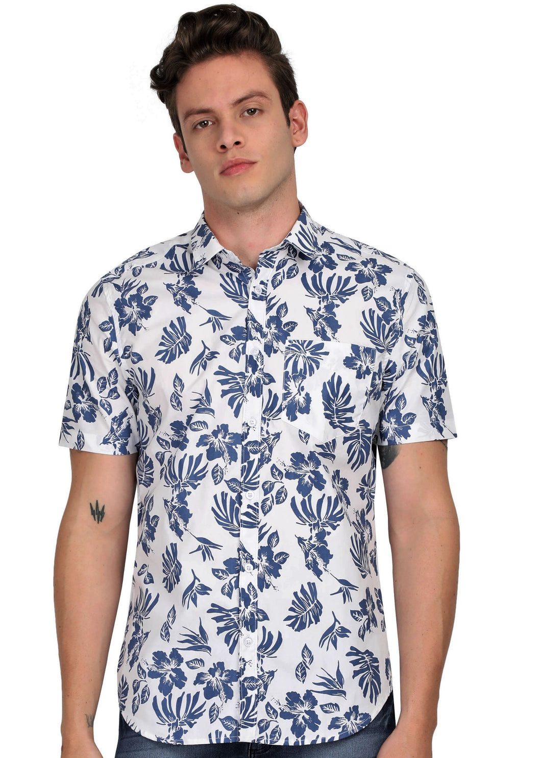Tusok-miami-iceVacation-Printed Shirtimage-Manish Blue (1)