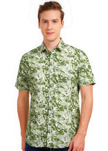Load image into Gallery viewer, Tusok-mojitoVacation-Printed Shirtimage-Green Zigzag (1)