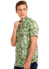 Load image into Gallery viewer, Tusok-mojitoVacation-Printed Shirtimage-Green Zigzag (2)