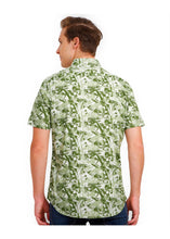 Load image into Gallery viewer, Tusok-mojitoVacation-Printed Shirtimage-Green Zigzag (3)