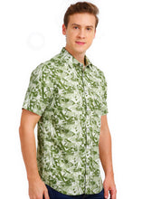 Load image into Gallery viewer, Tusok-mojitoVacation-Printed Shirtimage-Green Zigzag (4)