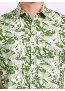 Tusok-mojitoVacation-Printed Shirtimage-Green Zigzag (6)