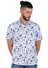 Load image into Gallery viewer, Tusok-neptuneVacation-Printed Shirtimage-Blue Linen (1)