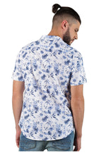 Load image into Gallery viewer, Tusok-neptuneVacation-Printed Shirtimage-Blue Linen (3)