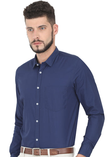Tusok-night-bluePlain-Solid Shirtimage-Dark Blue Solid (1)