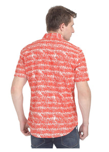 Tusok-orange-palmVacation-Printed Shirtimage-Orange Palm (5)