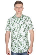 Load image into Gallery viewer, Tusok-orchardFeatured Shirt, Vacation-Printed Shirtimage-Green Linen (1)