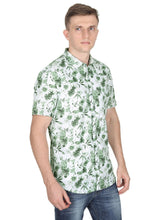 Load image into Gallery viewer, Tusok-orchardFeatured Shirt, Vacation-Printed Shirtimage-Green Linen (3)