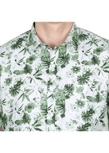 Load image into Gallery viewer, Tusok-orchardFeatured Shirt, Vacation-Printed Shirtimage-Green Linen (5)