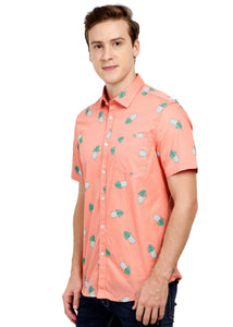 Tusok-pink-pineappleFeatured Shirt, Vacation-Printed Shirtimage-Peach Pineapple (2)